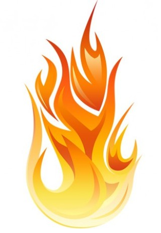 Костер пламя