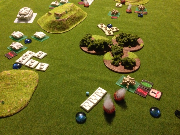 With a squad of Terriers joining in, the Covenant left flank begins to crumble...